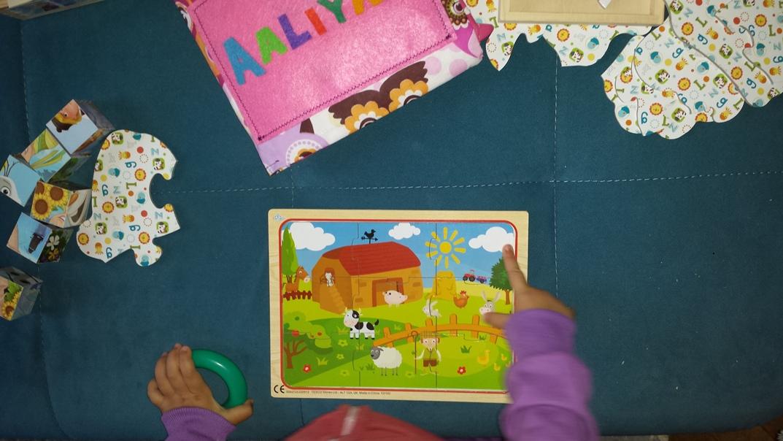 Zdjęcie puzzli płaskich