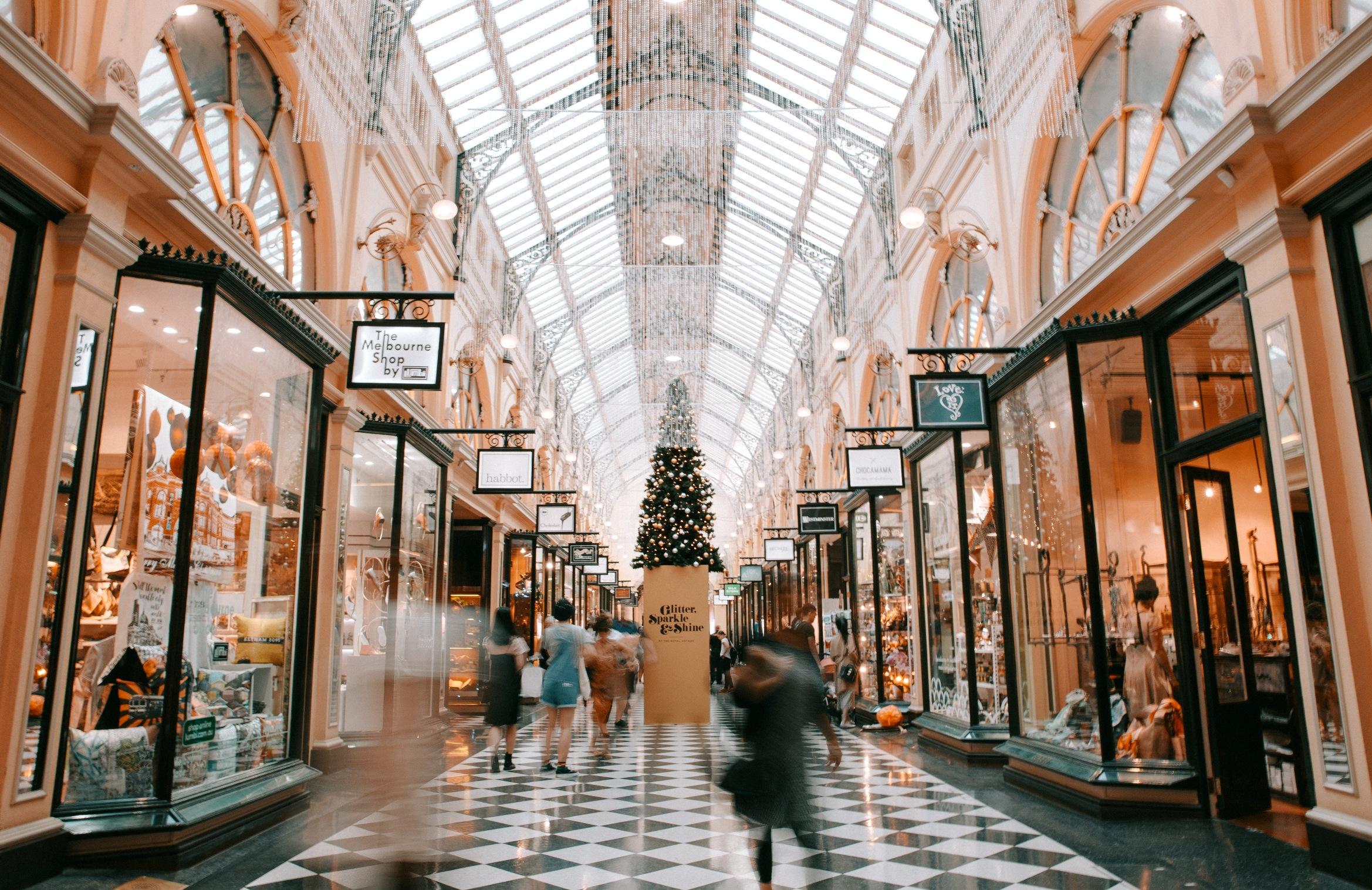 Zdjęcie shopping mall
