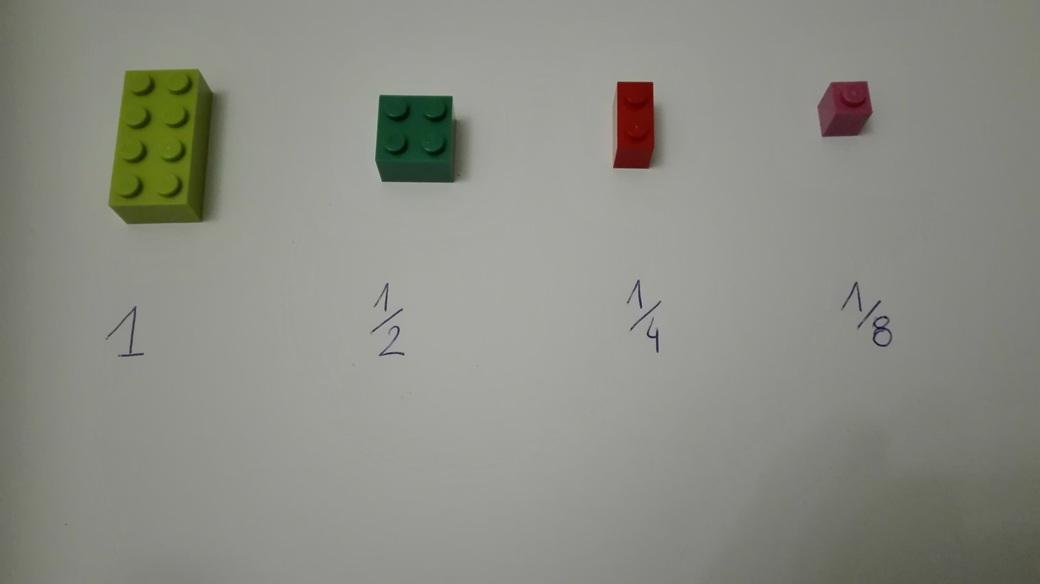 Zdjęcie Lego ułamki